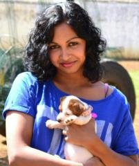 Sarisha Pillay with Dazzle (Greytown)
